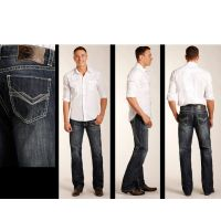 Rock and Roll Cowboy Double Barrel Mens Jeans M0S3468