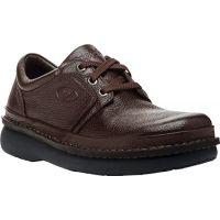 Propet Village Walker Brown Leather Mens Casual M4070-Brown