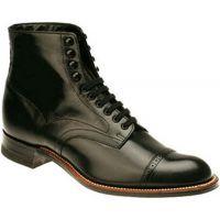 Stacy Adams Madison Hi Black Leather Mens Dress 00015-01