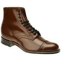 Stacy Adams Madison Hi Brown Leather Mens Dress 00015-02