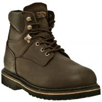 MR86144 Dark Brown Lace-Up 6 inch Soft Toe Dan Post Mens Work Boots