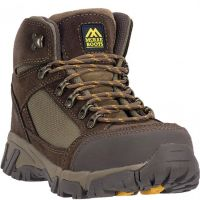 MR86301 Brown McRae Mens Leather Safety Toe Work Boots