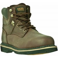 MR86344 Dark Brown Lace-Up 6inch Steel Toe Dan Post Mens Work Boots