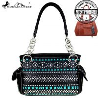 Montana West Bling Bling Collection Concealed Handgun Satchel MW455G-8085