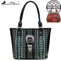 Montana West Buckle Collection Concealed Handgun Tote Bag MW536G-8317