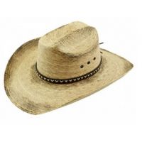 California Hat Company Burnt Stain Palm Leaf Western Hat MX-730