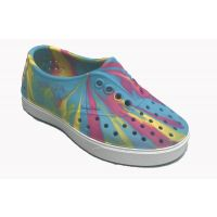 Native Jefferson Blue/Pink Shell EVA KIds Waterproof Sneaker 13100210-BLU