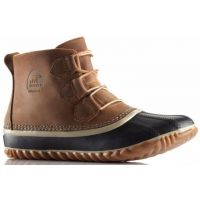 NL2133 OUT N ABOUT Waterproof Leather All Weather Sorel Womens Boots