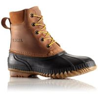 Sorel Cheyanne Lace Waterproof Brown Mens Boots 1424351-224