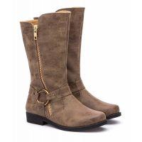 Rachel Tan Northfield Toddler Side Zip Boots NORTHFIELD-TAN