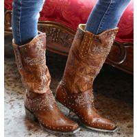 L1295-3 Krusts Brass Old Gringo Womens Western Boots