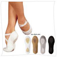 Sansha Canvas Split Sole Adult Soft Ballet Shoes