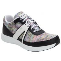 Alegria Traq Qarma Horizon White Womens Comfort Lace Up Sneakers QAR-5152