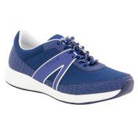Alegria Traq Qarma Navy Paths Womens Comfort Lace Up Sneakers QAR-5402