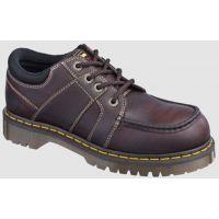 R14138200 Brown Low Moc Oxford Steel Toe Dr. Martens Mens Work Shoes