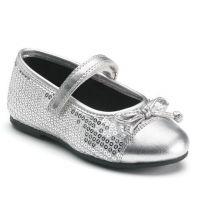 Rachel LIL Capri Silver Sequins Girls Dress LCAPR-SSQ