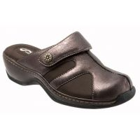 Softwalk Acton Brown Distressed Comfort Womens Slide On Clog S1358-216