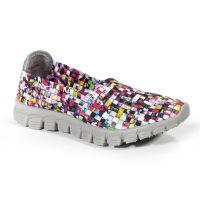 Zee Alexis Stella-A Mosaic Multi Woven Womens Sneaker