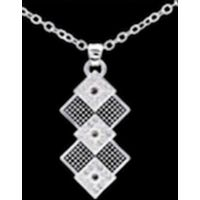TBNC2562 Double Black Diamond Western Edge By Taylor Brands Necklaces