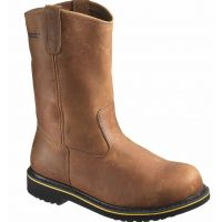 W10102 Wolverine Mens Foster Durashocks Steel Toe Wellington Boots