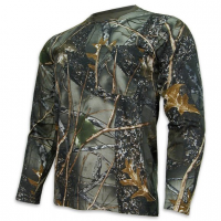Camouflage Long Sleeve Shirt World Famous Sports