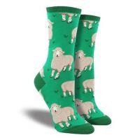 SockSmith Green Womens Wool Be Friends Socks WNC1528