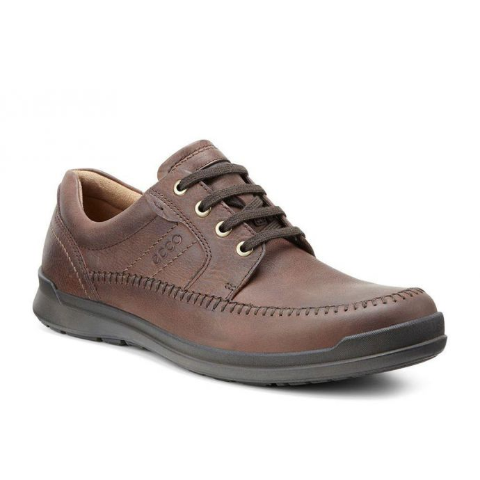 Ecco Howell Brown Leather Moccasin Men's Comford 524504 02053