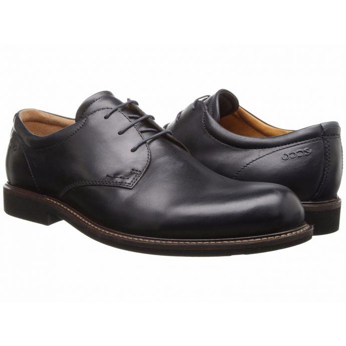 Ecco Findlay Tie Black Leather Mens DressCasual 633554 50625