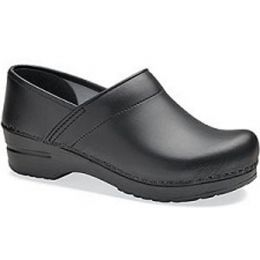 Dansko Professional Black Classic Closed-Back Womens Clogs 006-020202