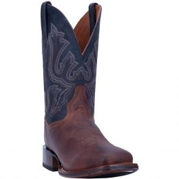 Dan Post Winslow Leather Mens Square Toe Western Boots DP4556