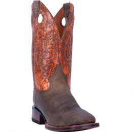 Dan Post Deuce Leather Mens Comfort Square Toe Western Boots DP4560