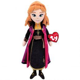 TY Sparkle Frozen Anna Plush Doll 02306