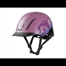 Troxel Pink Dreamscape Spirit Riding Helmet 04-538