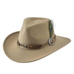 Bullhide Men's Rumors Camel Wool Western Hat 0813CA