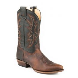 Karmen Roper Brown Conceal Carry Mens Western Boots 0902081500811BR