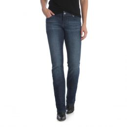 Wrangler Mid-Rise Womens Straight Leg Jeans 09MWTDS