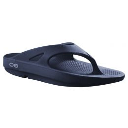 1000-NAVY Foam Cushioned Original Thong Flip-Flop Oofos Ladies Sandals