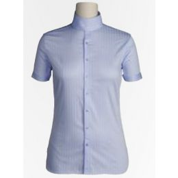 10003308 Blue Victory Short Sleeve Womens Riding Shirt