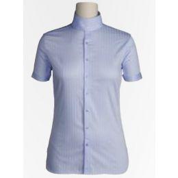 10003308 Blue Victory Short Sleeve Womens Riding Shirt