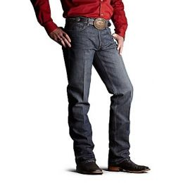 10006156 Dark Denim Relaxed Fit Lower Rise Boot Cut Ariat Mens Jeans