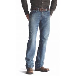 10008403 M4 Scoundrel Relaxed Fit Low Rise Boot Cut Ariat Mens Jeans