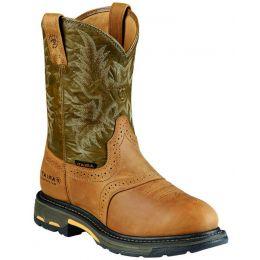 10008635 Workhog Waterproof Composite Toe Ariat Mens Work Boots