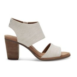 Toms Natural Yarn Dye Womens Majorca Cutout Sandals 10009814