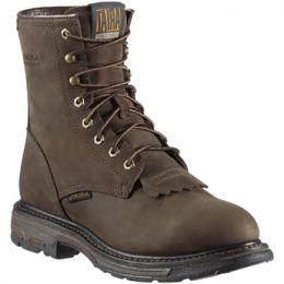 10011939 Distressed Brown Workhog Waterproof Ariat Mens Work Boots