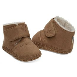 Toms Toffee Microfiber Tiny TOMS Cuna Infant Crib Shoes 10012577