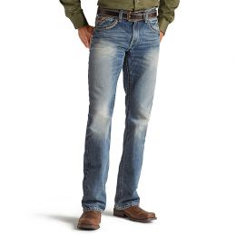 10012703 Ariat Men's M5 Low Rise Striaght Leg Jeans