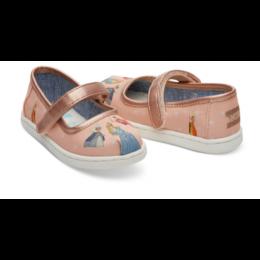 Disney X TOMS Sleeping Beauty Tiny TOMS Mary Jane Flats 10012741
