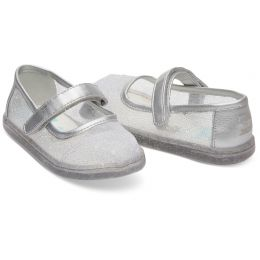 Disney X TOMS Cinderella Glitter Mesh Tiny TOMS Mary Jane Flats 10012742