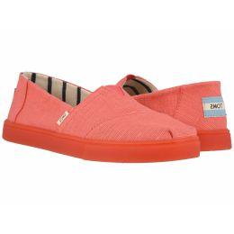 Toms Persimmon Heritage Canvas Womens Cupsole Alpargatas Venice Shoes 10013489