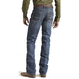 10014010 Gulch M5 Low Rise Straight Leg Ariat Mens Jeans